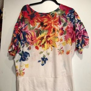 George Simonton Top with flower details